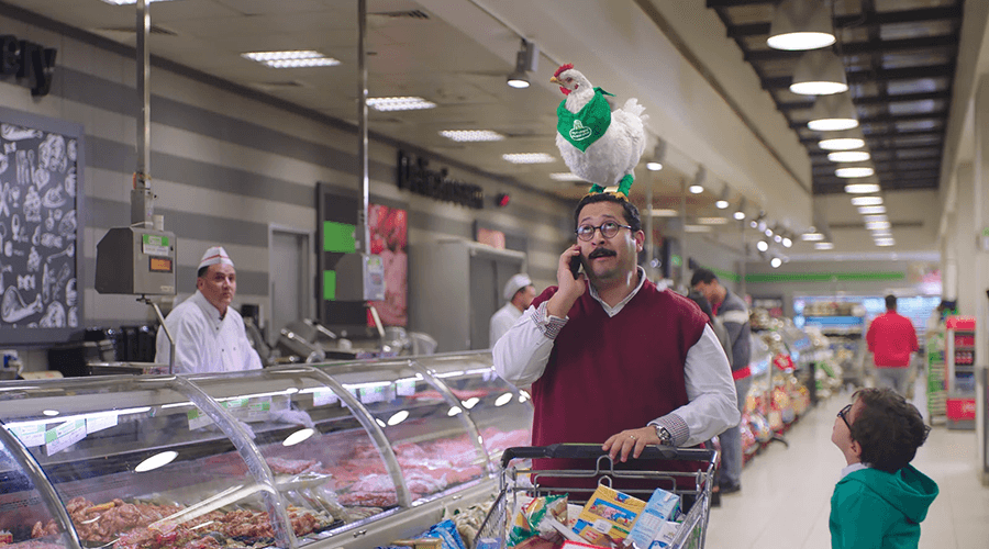 "Halwani – Supermarket TVC ""CGi Chicken"""